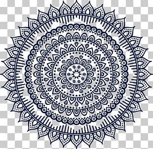 Mandala Buddhism Ornament Pattern PNG