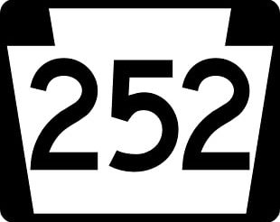 Pennsylvania Route 252 Wikimedia Commons Scalable Graphics Computer File PNG