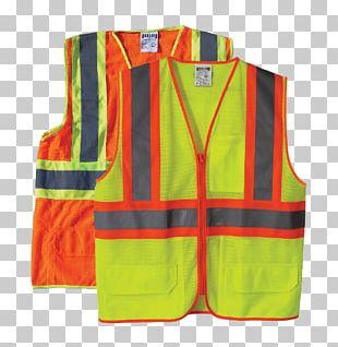 Gilets Sleeveless Shirt High-visibility Clothing PNG
