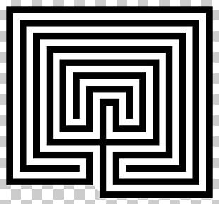 Labyrinth Celtic Maze Symbol Caerdroia PNG