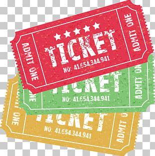 Ticket Illustration PNG