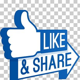 Social Media Facebook Like Button Thumb Signal PNG