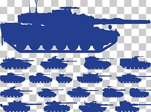 Tank Silhouette Military PNG