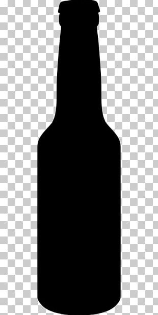 Beer Bottle Silhouette PNG