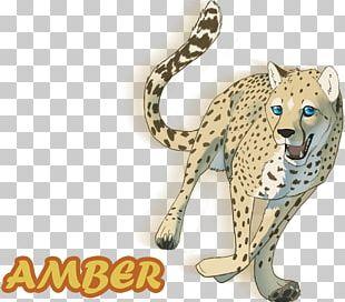 Cheetah Leopard Big Cat Terrestrial Animal PNG