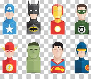 Superhero Adobe Illustrator Icon PNG