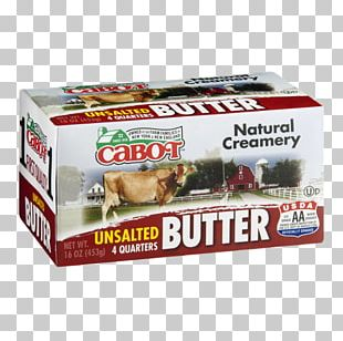 Cream Land O'Lakes Unsalted Butter Ingredient PNG