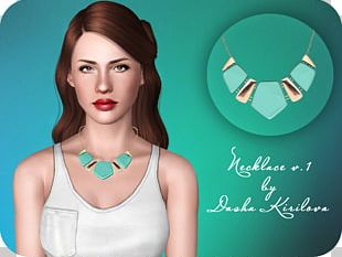 The Sims 3: Into The Future Earring Necklace Clothing Accessories PNG