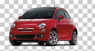 Fiat Automobiles 2013 FIAT 500 Car PNG