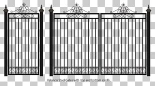 Fence Iron Gate Pipe PNG