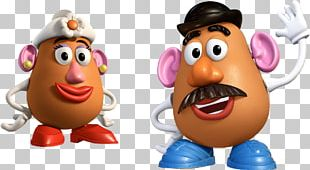 Mr. Potato Head Toy Story Mrs. Potato Head Sheriff Woody PNG