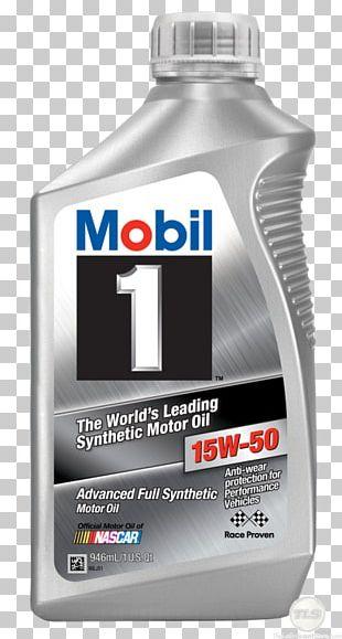 Motor Oil Mobil 1 Synthetic Oil ExxonMobil PNG