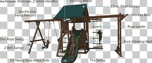Swing Outdoor Playset Jungle Gym Playground Slide PNG