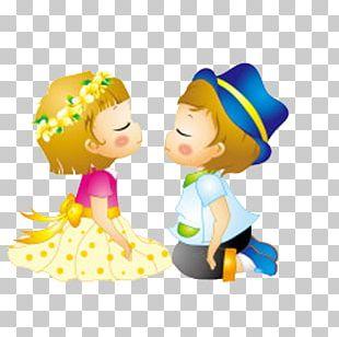 Cartoon Couple PNG