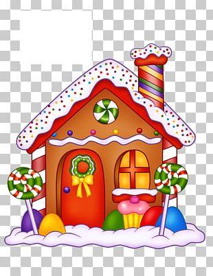 Gingerbread House Lollipop Bonbon Hansel And Gretel PNG