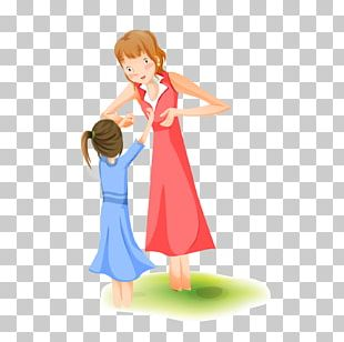 Mother Woman Cartoon Illustration PNG