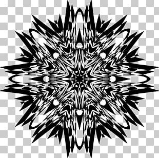 Sacred Geometry Fractal Art PNG