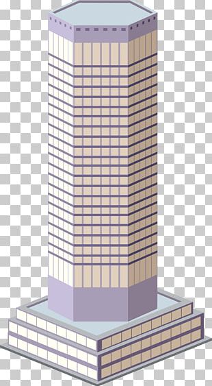 Skyscraper Building Office Drawing PNG