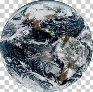 Earth Geostationary Operational Environmental Satellite The Blue Marble International Space Station GOES-16 PNG