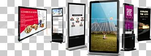 Interactive Kiosks Digital Signs Digital Signage Product Comparison Digital Television Display Device PNG