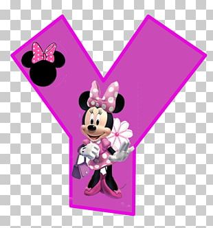 Minnie Mouse Mickey Mouse Letter Alphabet The Walt Disney Company PNG