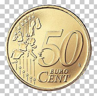 50 Cent Euro Coin Euro Coins PNG