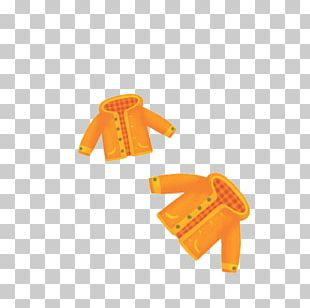 Outerwear Jacket Yellow Icon PNG