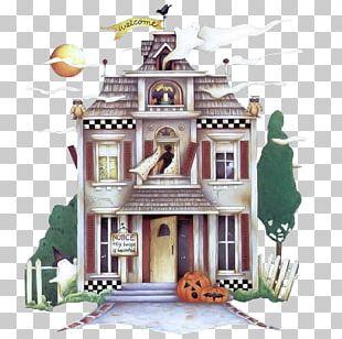 Haunted House Halloween YouTube PNG