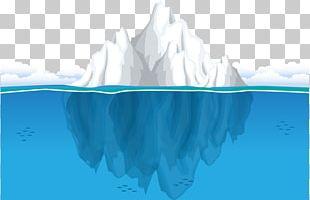 Iceberg Ocean Seawater PNG