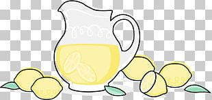 Lemonade Juice Iced Tea Pitcher PNG