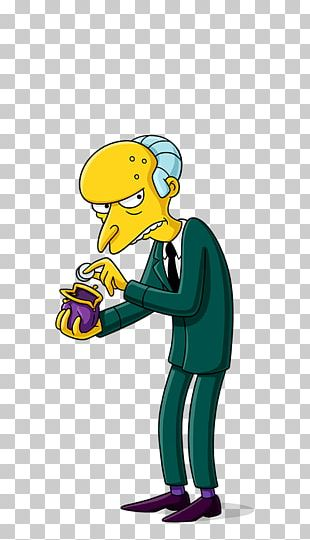 Mr. Burns Waylon Smithers Homer Simpson Bart Simpson Grampa Simpson PNG