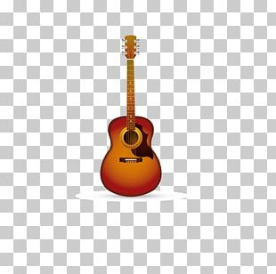 Acoustic Guitar Musical Instrument PNG