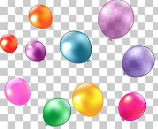 Colored Bubbles Bubble Color Qixi Festival Balloon PNG