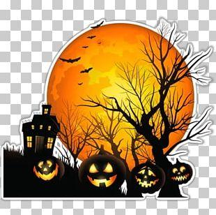 The Halloween Tree Jack-o'-lantern Haunted House PNG