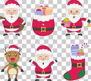 Santa Claus Père Noël Christmas PNG