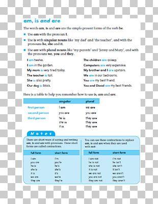 Verb Explanation English Grammar Explication PNG
