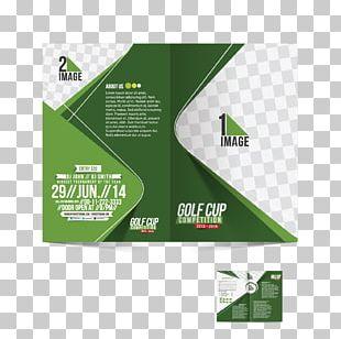Brochure Golf Illustration PNG