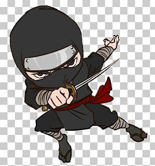 Ninja Cartoon Kids World Gymnastics PNG