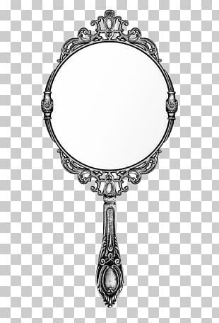 Stock Photography Mirror Gold PNG