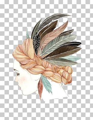 Watercolor Painting Drawing Art Sketch PNG