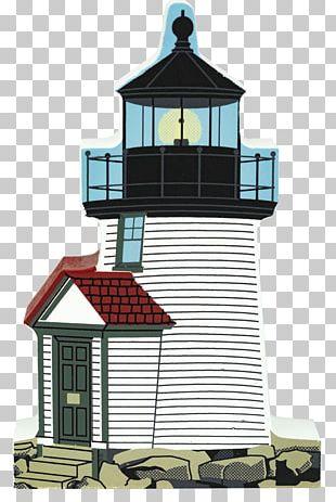 Brant Point Light Assateague Light Cat's Meow Village Gift & Decor Lighthouse PNG