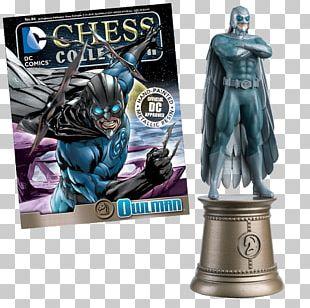Chess Piece Board Game Owlman DC Comics PNG