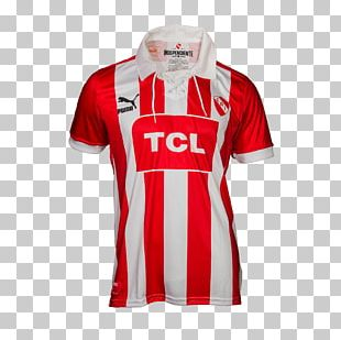 T-shirt Club Atlético Independiente Puma White Red PNG