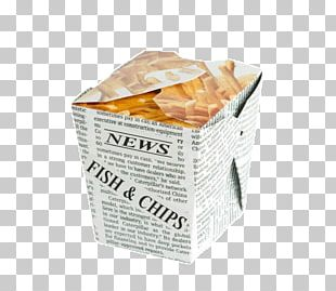 Fish And Chips French Fries Paper Packaging And Labeling Box PNG