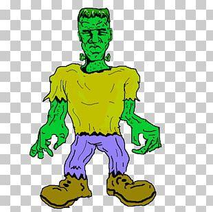 Frankenstein's Monster Cartoon PNG