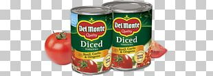 Tomato Del Monte Foods Dicing Diet Food PNG