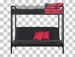 Bunk Bed Futon Couch Furniture PNG