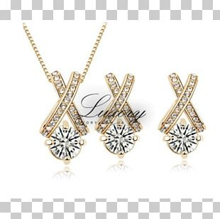 Earring Imitation Gemstones & Rhinestones Charms & Pendants Necklace Jewellery PNG