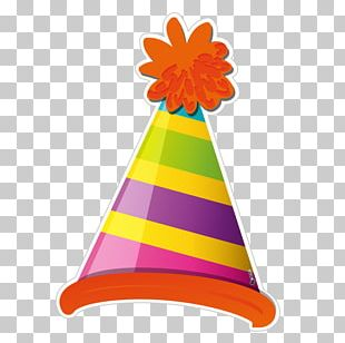 Party Hat Birthday Photo Booth PNG