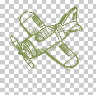 Airplane Aircraft Sketch PNG